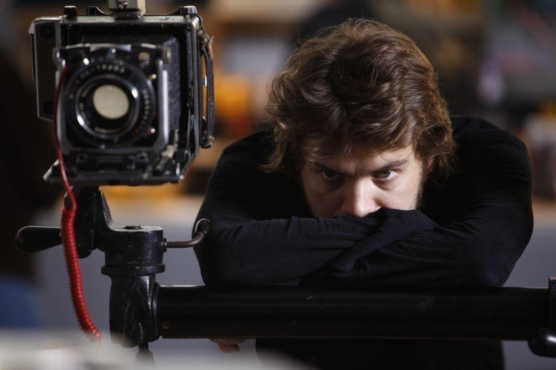 Venuto al Mondo: Emile Hirsch sul set del film