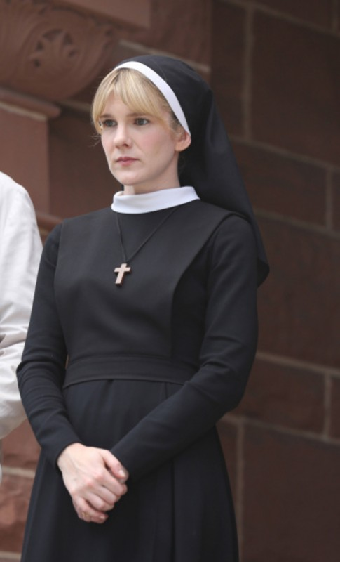 American Horror Story, Asylum - Lily Rabe è Suor Mary Eunice nell'episodio Welcome To Briarcliff