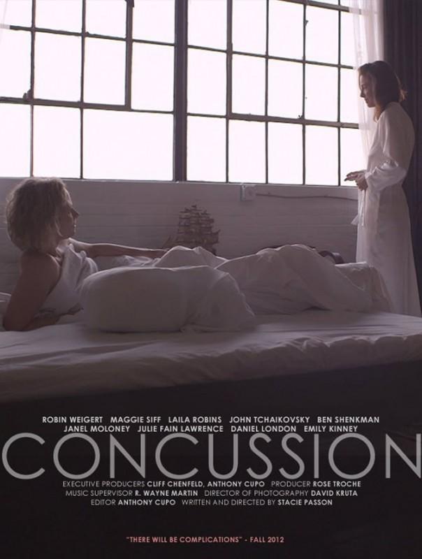 Concussion: la locandina del film