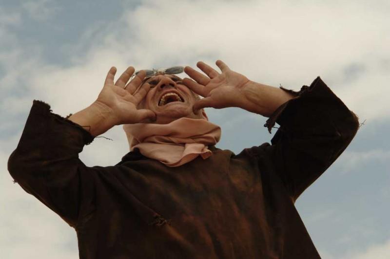 Il sole dentro: Francesco Salvi in una scena del film