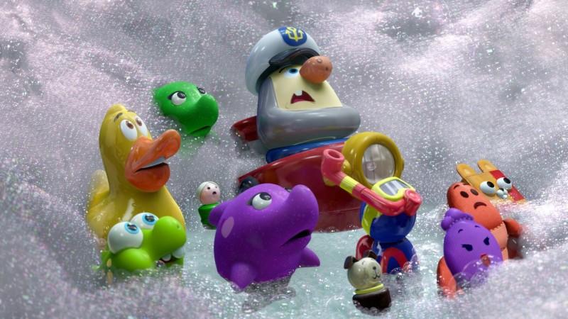 Non c'è festa senza Rex: alcuni simpatici personaggi del nuovo corto Pixar
