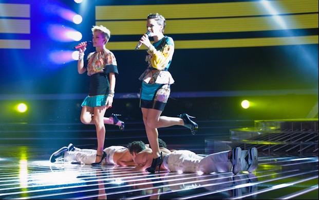 X Factor 6: Le Donatella si esibiscono nella prima puntata