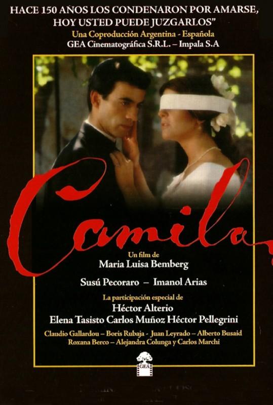 Camilla: la locandina del film