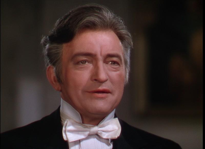 Claude Rains in una sequenza del film Il Fantasma dell'Opera (1943)