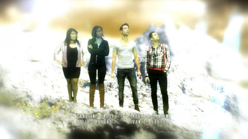 Columns: un'immagine promozionale del cast della miniserie