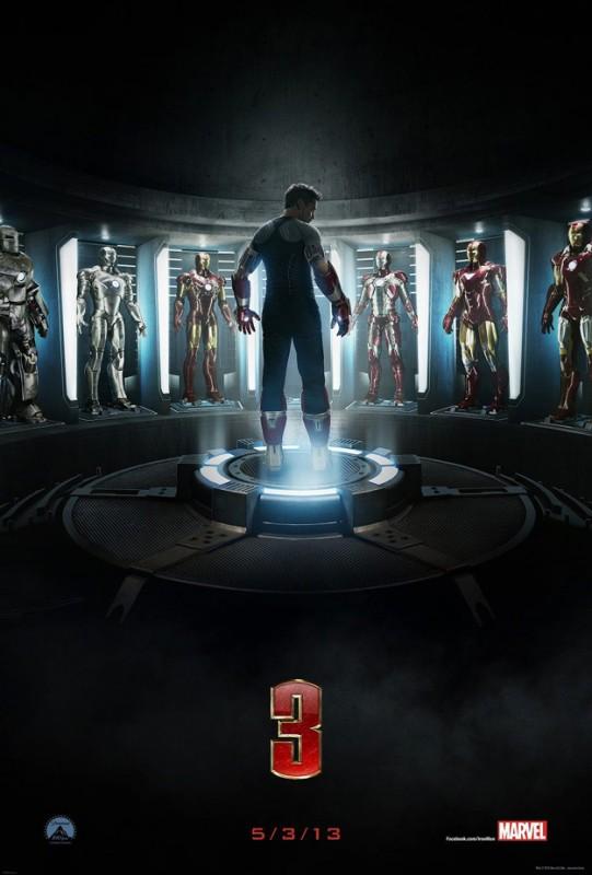 Iron Man 3: la prima locandina