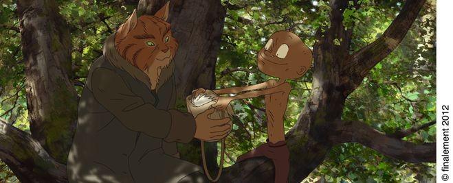 Le jour des corneilles: una scena del film d'animazione