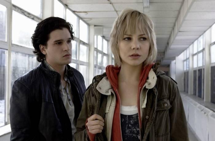 Adelaide Clemens con Kit Harington in Silent Hill: Revelation 3D