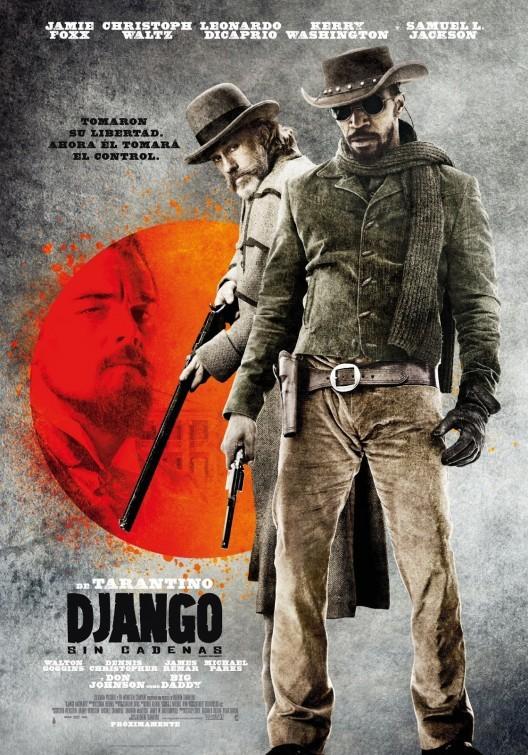 Django Unchained: un poster argentino per il nuovo film di Quentin Tarantino