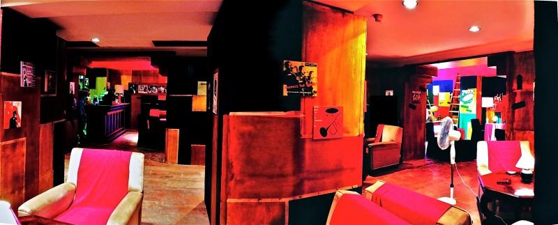 Il Commissario Nardone - scenografia night club Mocambo (G. Pirrotta)