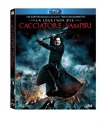 La copertina di La leggenda del cacciatore di vampiri (blu-ray)