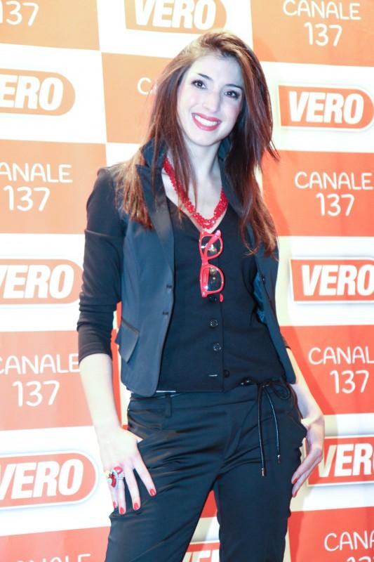 Margherita Zanatta a VERO TV nel 2012