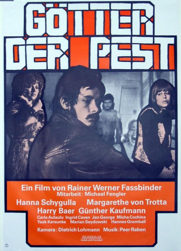 Dei della peste: la locandina del film