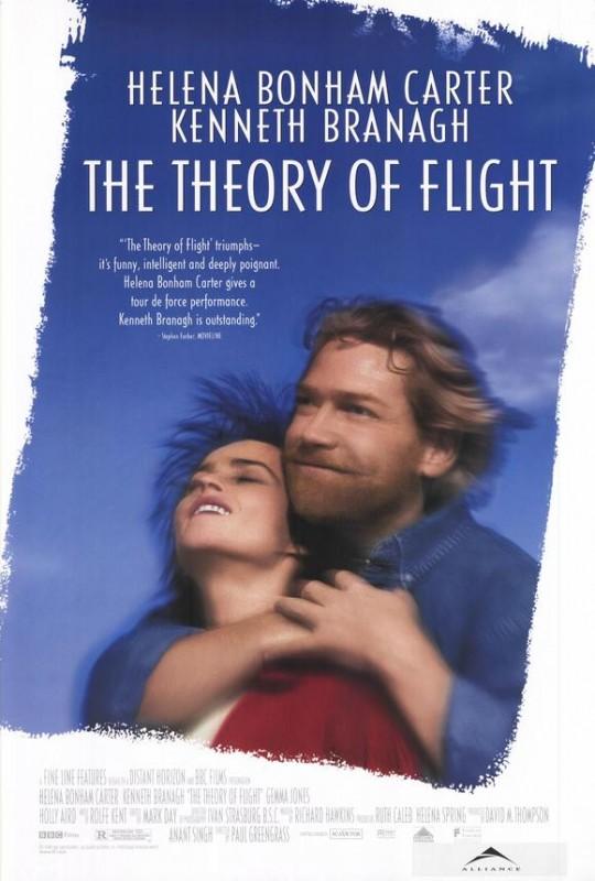 La teoria del volo: la locandina del film