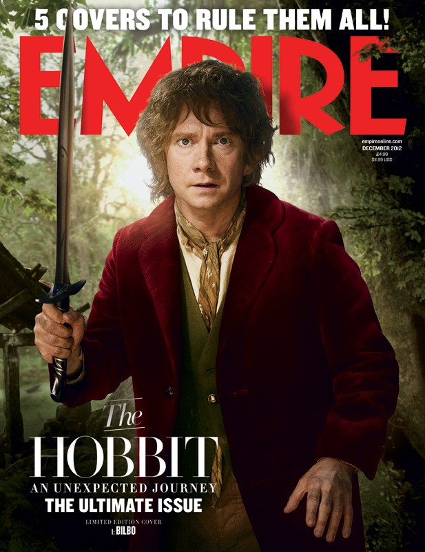 Lo Hobbit: un viaggio inaspettato - La copertina di Empire dedicata a Bilbo