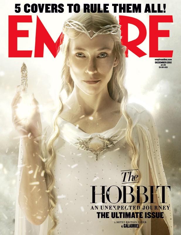 Lo Hobbit: un viaggio inaspettato - La copertina di Empire dedicata a Dama Galadriel