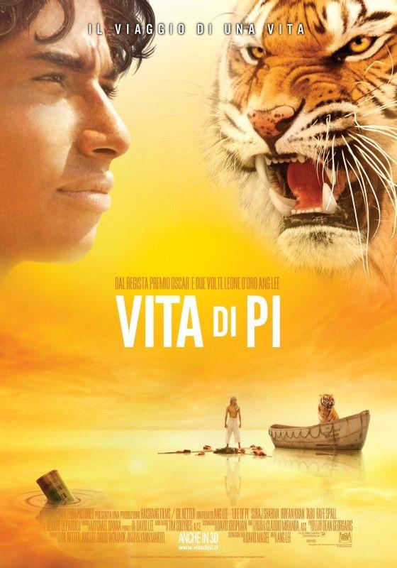 Vita di Pi: la locandina italiana del film