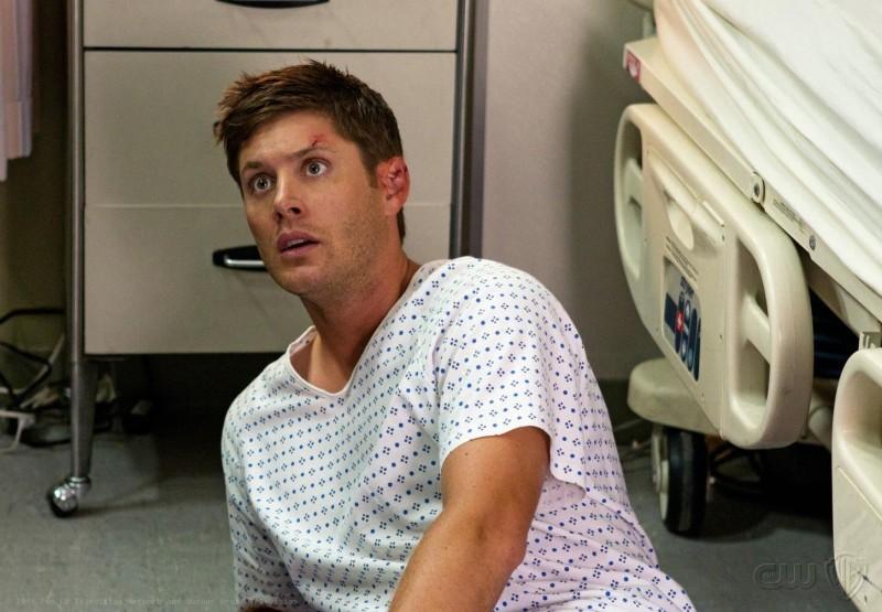 Jensen Ackles nell'episodio The Girl Next Door della settima stagione di Supernatural