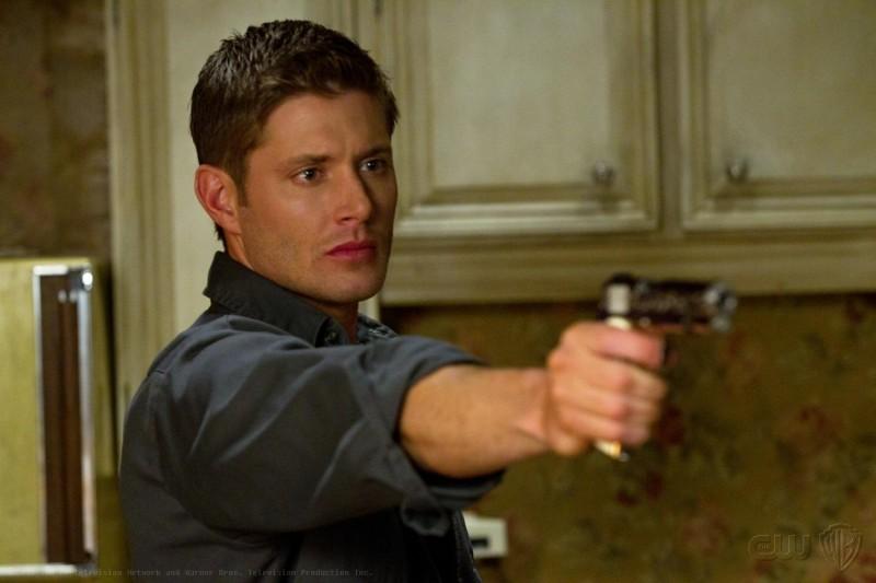 Jensen Ackles nell'episodio The Slice Girls della settima stagione di Supernatural