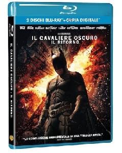 La copertina di Il cavaliere oscuro - Il ritorno (blu-ray)