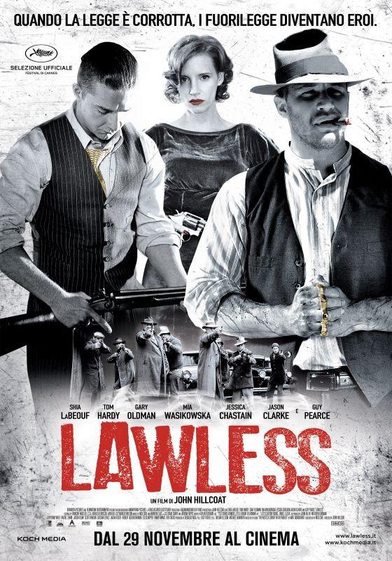 Lawless: la locandina italiana del film