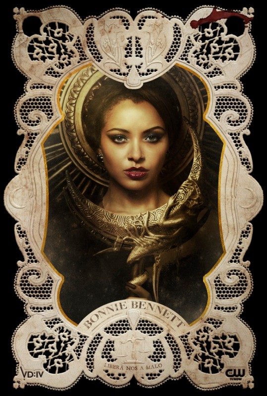 The Vampire Diaries: un poster per il personaggio di Bonnie, interpretato da Kat Graham