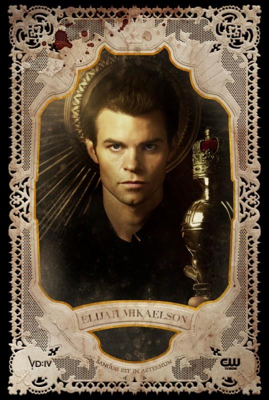The Vampire Diaries: un poster per il personaggio di Elijah, interpretato da Daniel Gillies