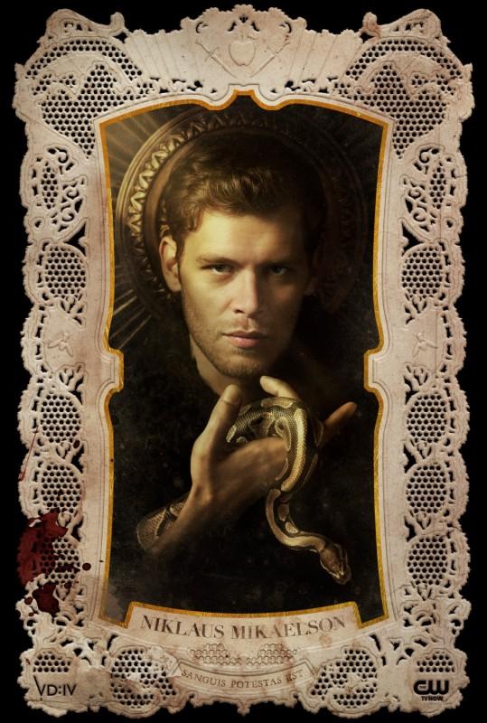 The Vampire Diaries: un poster per il personaggio di Klaus, interpretato da Joseph Morgan