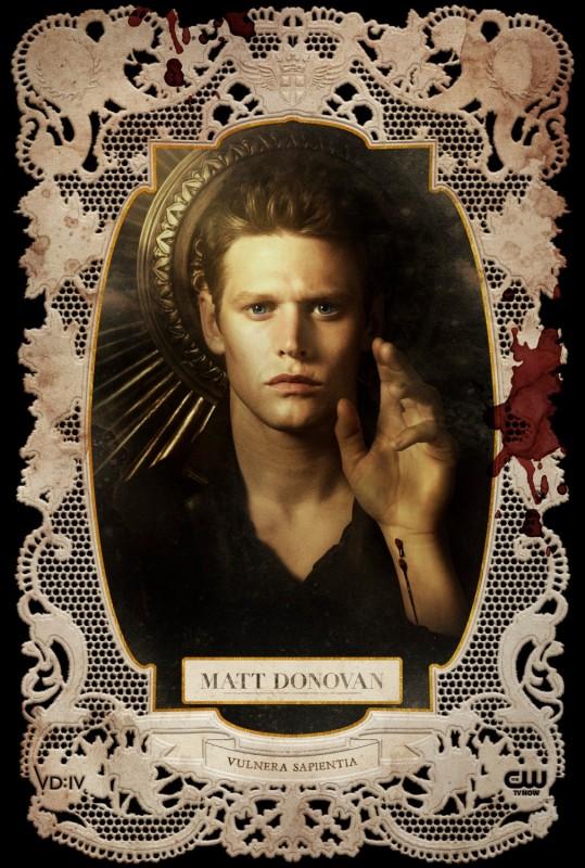 The Vampire Diaries: un poster per il personaggio di Matt, interpretato da Zach Roerig