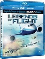 La copertina di Leggende del volo 3D (blu-ray)