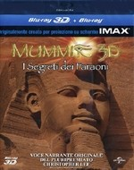 La copertina di Mummie 3D - I segreti dei faraoni (blu-ray)