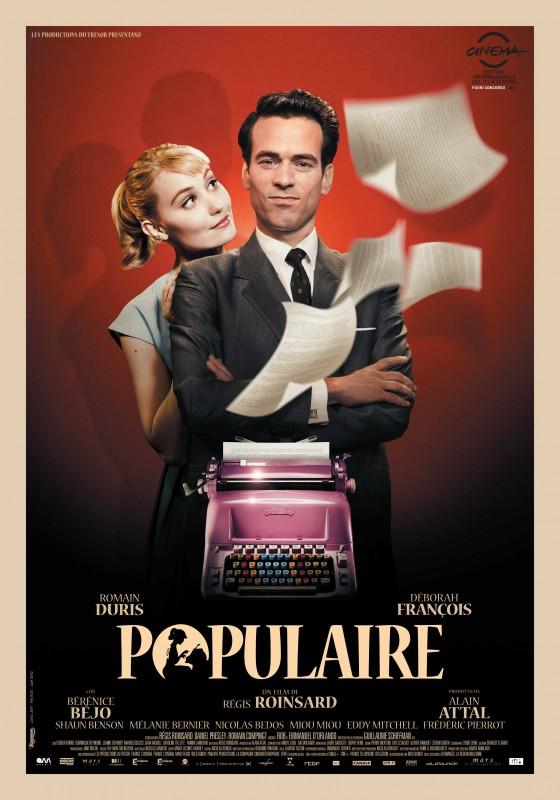 Populaire: la locandina italiana del film