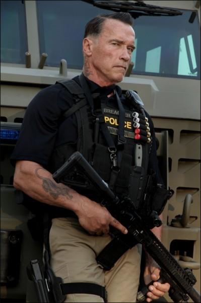 Sabotage: ecco la prima immagine di Arnold Schwarzenegger in costume