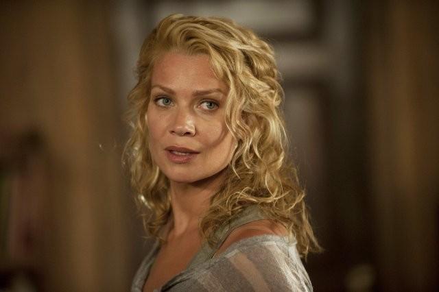 The Walking Dead: un primo piano di Laurie Holden nell'episodio Benvenuti a Woodbury
