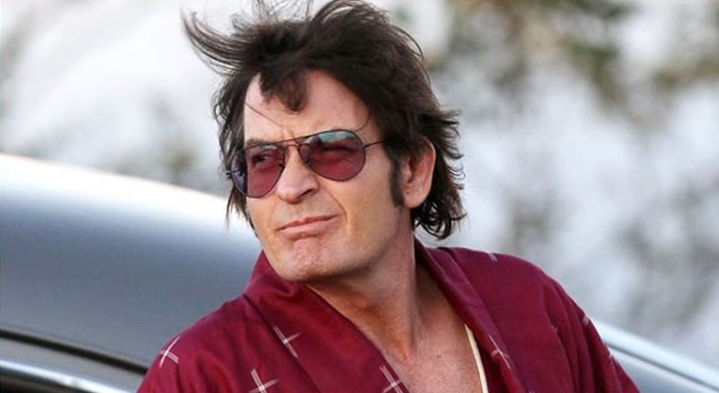 A Glimpse Inside the Mind of Charles Swan III: Charlie Sheen sul set del film