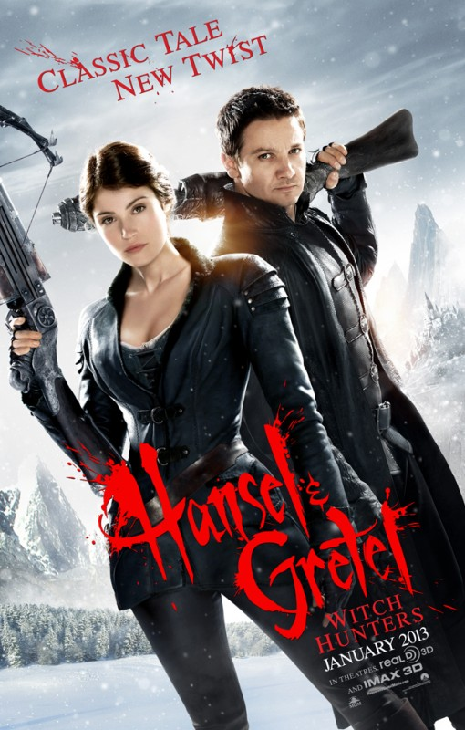 Hansel and Gretel: Witch Hunters - Ecco la prima locandina