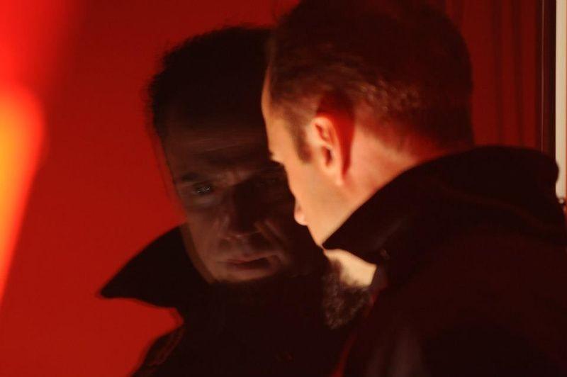 Ixjana: Łukasz Simlat in una scena del film