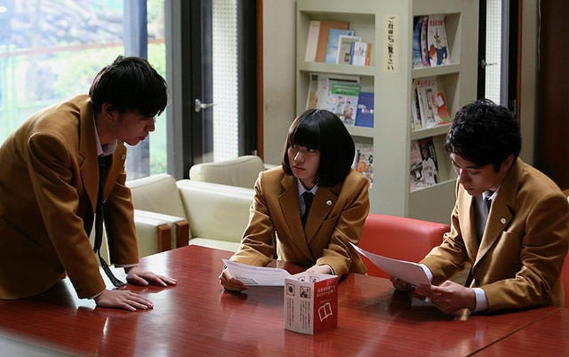 Lessons of Evil: Fumi Nikaidô in una scena del film