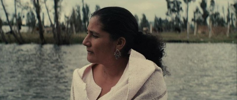 Mai morire: la protagonista Margarita Saldaña in una scena del film