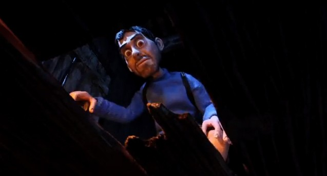 Una scena del film d'animazione O Apóstolo, del 2012