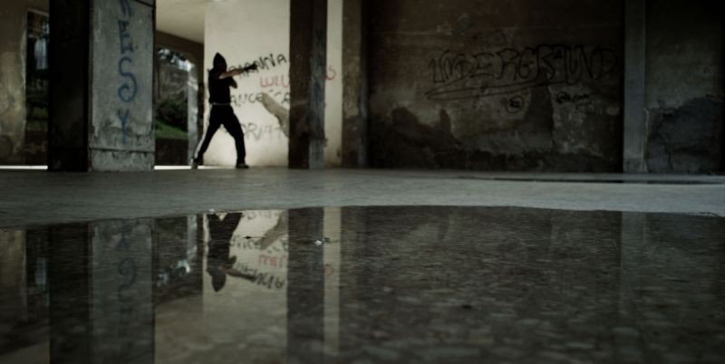 Acqua fuori dal ring: un'immagine tratta dal film