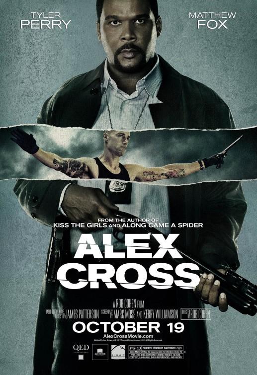 Alex Cross: nuovo poster