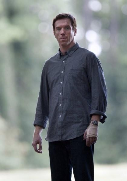 Damian Lewis in una foto dell'episodio The Clearing della serie TV Homeland