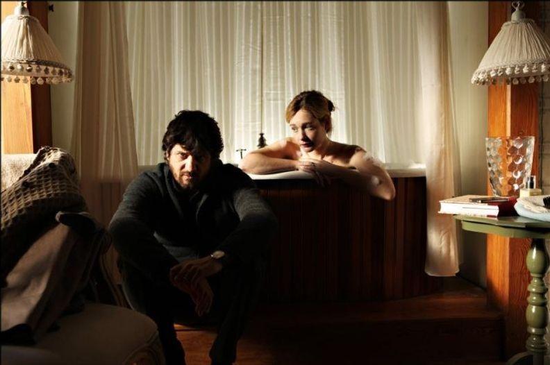 Il peggior Natale della mia vita: Cristiana Capotondi e Fabio De Luigi in un momento del film