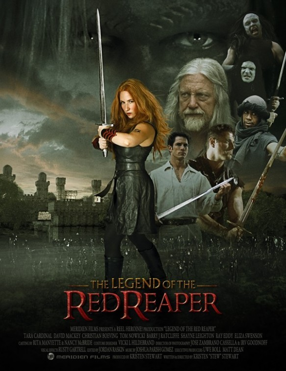 Legend of the Red Reaper: la locandina del film