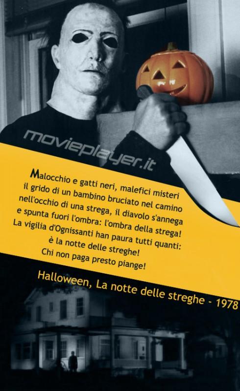 Michael Myers in Halloween - La Notte delle Streghe - la nostra eCard: condividi sui social le immagini e frasi dei tuoi film e attori preferiti!