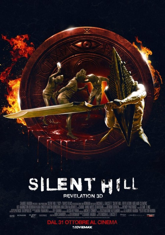 Silent Hill: Revelation 3D, il nuovo poster italiano