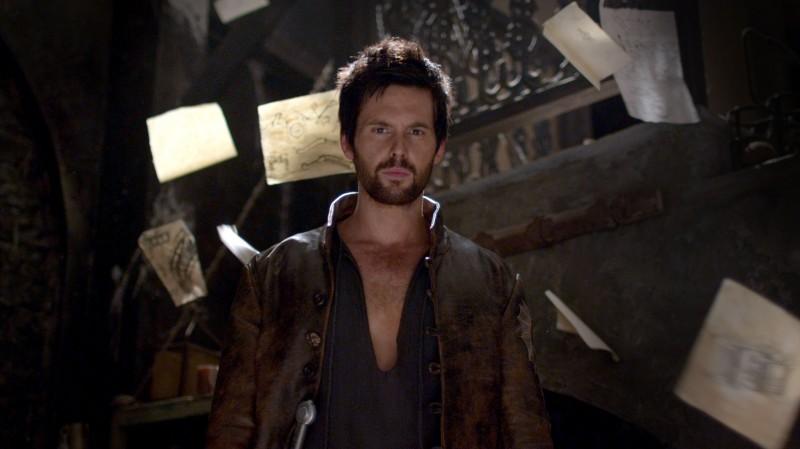 Da Vinci's Demons: Tom Riley nel ruolo di Leonardo Da Vinci in una delle prime immagini della serie
