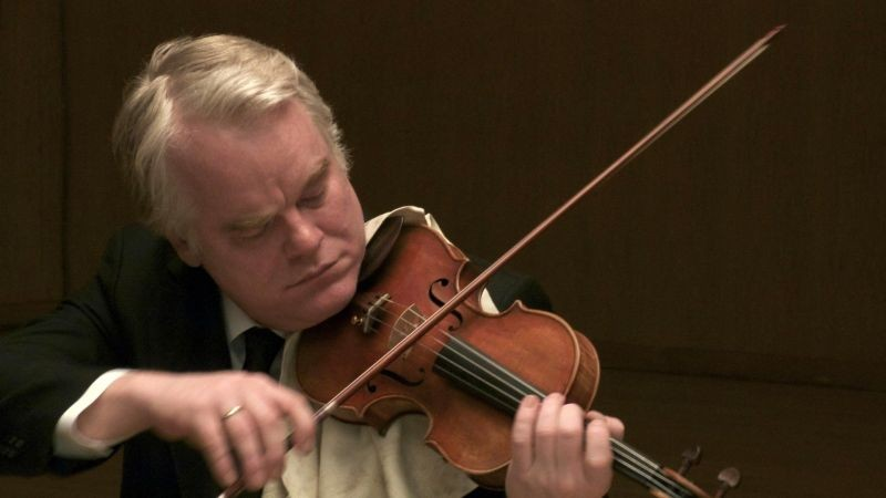 Philip Seymour-Hoffman in A Late Quartet
