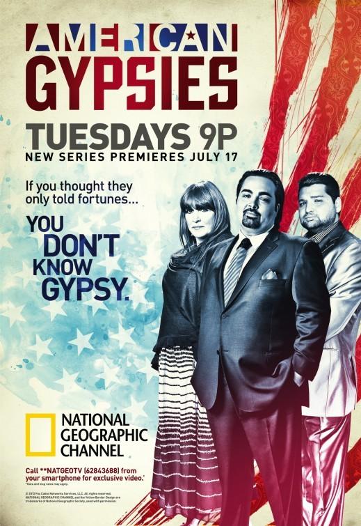 La locandina di American Gypsies